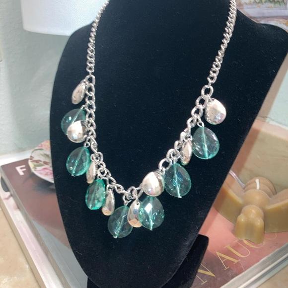 Paparazzi necklace ~ beautiful sea glass green